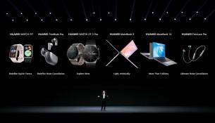 المنتجات التي أعلنت عنها هواوي خلال مؤتمر هواوي للمطورين