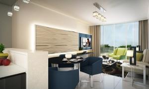 Golf Condominium - Living Area