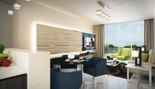 Golf Condominium - Living Area
