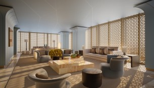 Iconic FENDI Casa furniture  at DAMAC Esclusiva in Riyadh