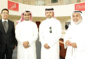 R-L Musllem Mohammad Al Zamil, Abdulla Behzad,Mohammed Alhassan, Eng Ashraf
