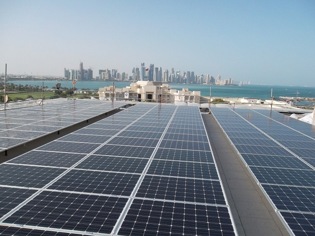 Solar panels - Msheireb Downtown Doha Project