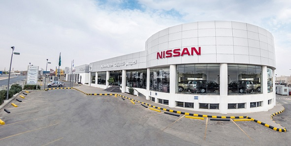 Alissa-Nissan show room, Riyadh