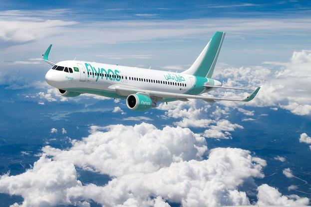 صور للطائرة بالشعار الجديد- flynas New Aircraft livery