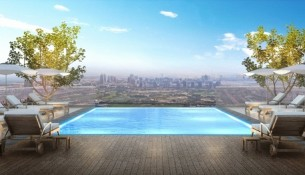 Emaar's Vida Residence, The Hills - Rooftop Pool