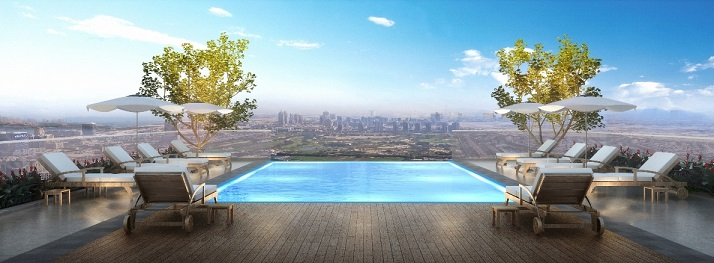 Emaar's Vida Residence, The Hills - Rooftop Pool