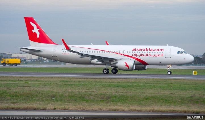 Air Arabia aircraft - shark 3