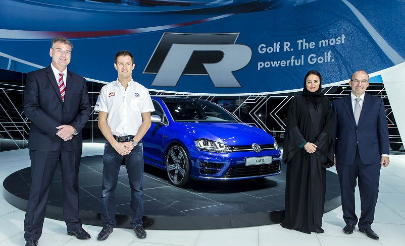 Golf R 2014 Qatar Motor show