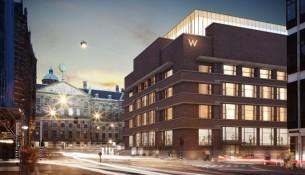 W Hotel Amsterdam_Office Winhov_BK_View from Raadhuistraat