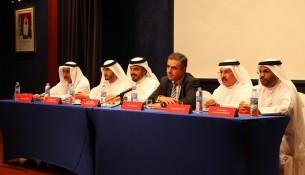 Air Arabia Board of Directors speaking at AGM in Sharjah