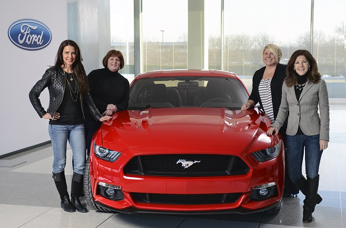The Women Behind the All-New Ford Mustang