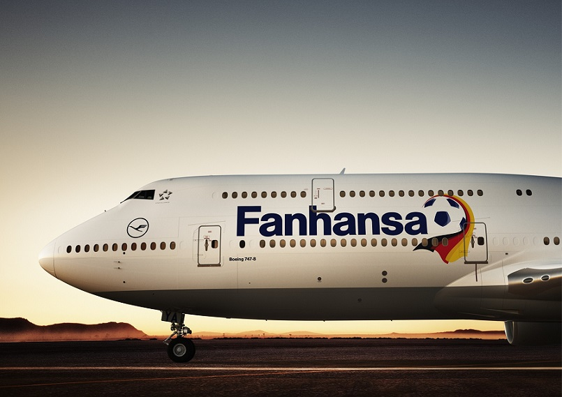 Boeing 747-8 with Fanhansa livery_MRES