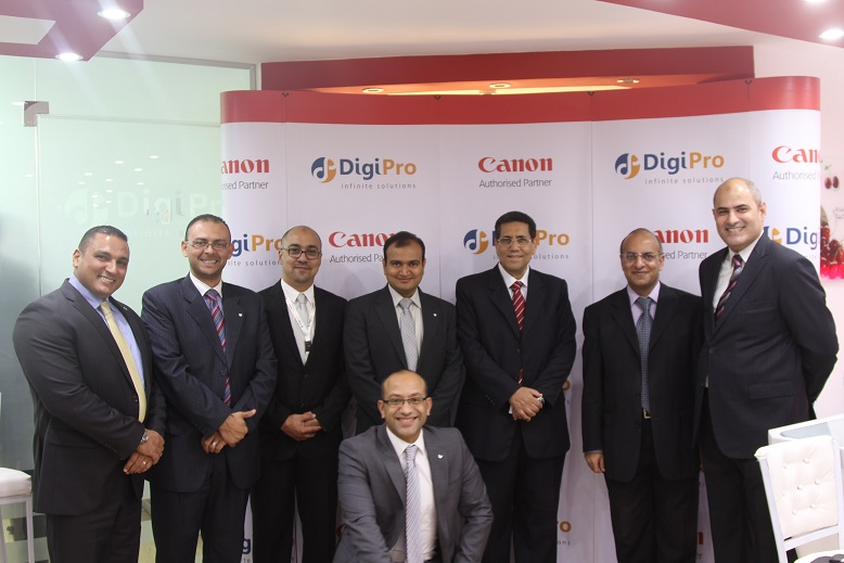 Canon Partnership with DigiPro in Egypt - April 2014