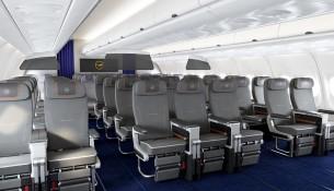 Premium Economy Class A340 Cabin View 2_MR