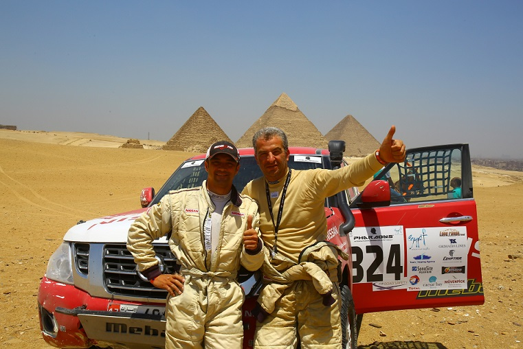 Emil Kneisser dominates the T2 category in the Rally of Pharaons in Egypt