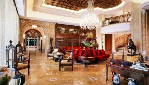 Grand Hills, a Luxury Collection Hotel & Spa, Broumana-Royal Residence - Living Room