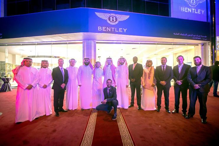 Bentley Showroom Opening Group Photo