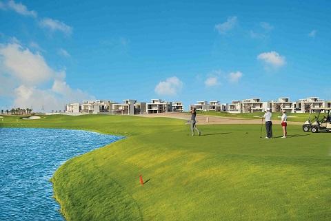 Golf Course and Golf Villas - AlZorah Ajman