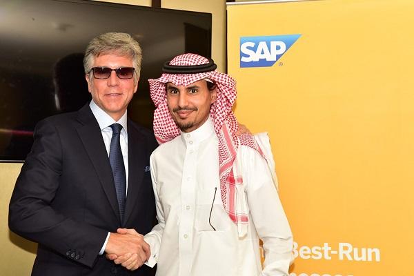 SAP - Bill McDermott and Ahmed Al-Faifi