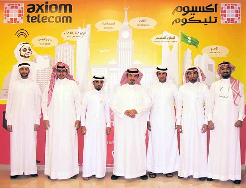axiom telecom - Saudization - Image 1