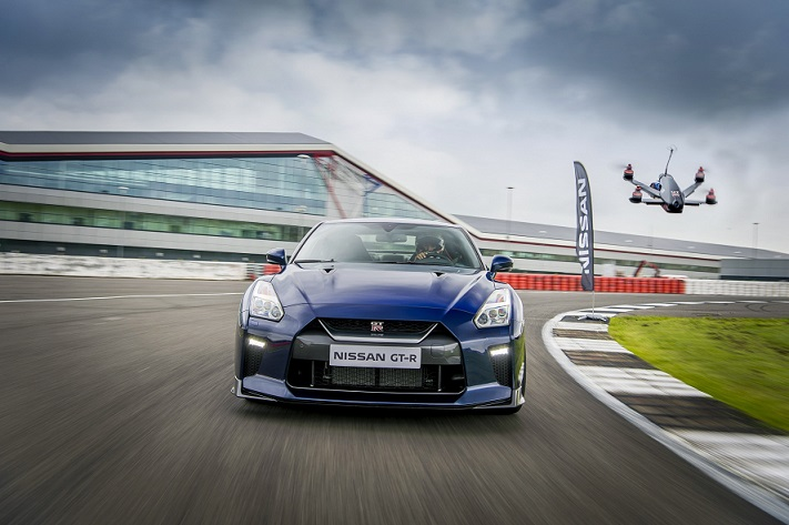 Nissan creates GT-R drone 0-100 kmh in just 1.3 seconds (2)