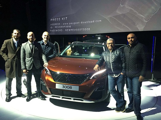 Peugeot 3008_Group Picture