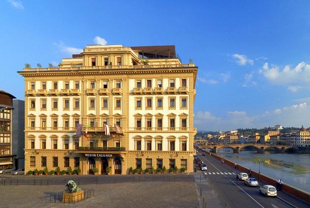 The Westin Excelsior Florence - Hotel Façade