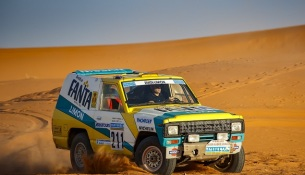 30 years on: Nissan's iconic 1987 Paris-Dakar rally car rides again