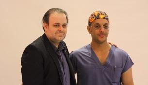 الدكتور خالد الزهراني والدكتور ماركوس
