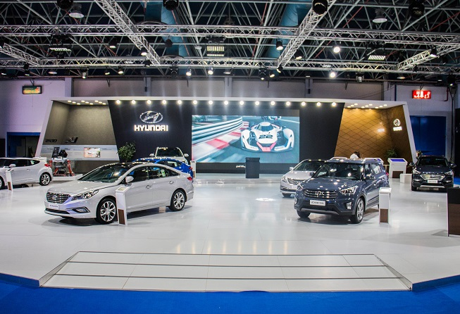 MYNM Hyundai Booth