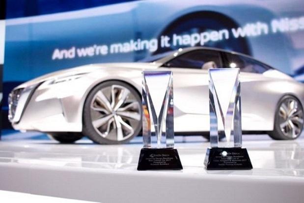 Nissan Vmotion 2.0 Wins EyesOn Design Award for Best Concept Veh