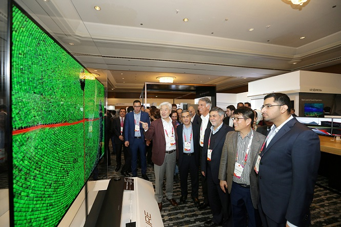5. VIP's at LG Innofest 2017 mesmerised by LG's breathtaking technological advancements within the TV industry