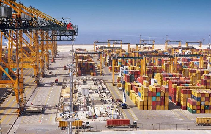 Berth of King Abdullah Port