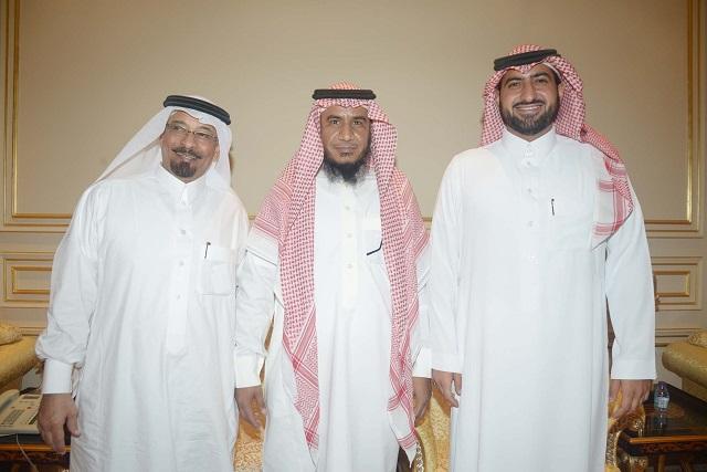 الامير عبدالله بن خالد، المحامي يوسف السيحاني، عبداللطيف العبداللطيف
