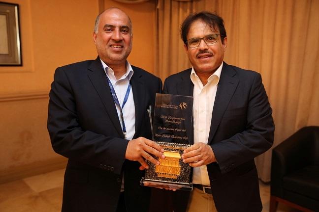 (LtoR) Abdullah Aldubaikhi, CEO of Bahri, and Nasser Al-Mahasher, CEO of Petro Rabigh (Large)