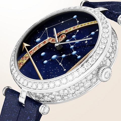 VCARO8TS00-WEBSITE-watch-detail-01-LadyArpelsZodiacLumineux-Sagittarius-38mm