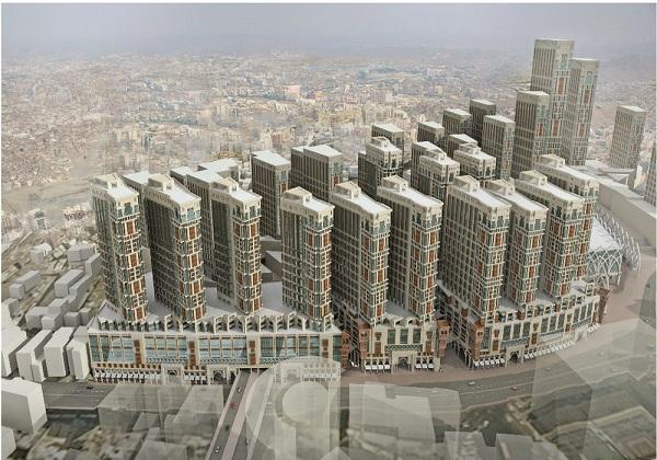 Jabal Omar Jumeirah in Makkah Hotel