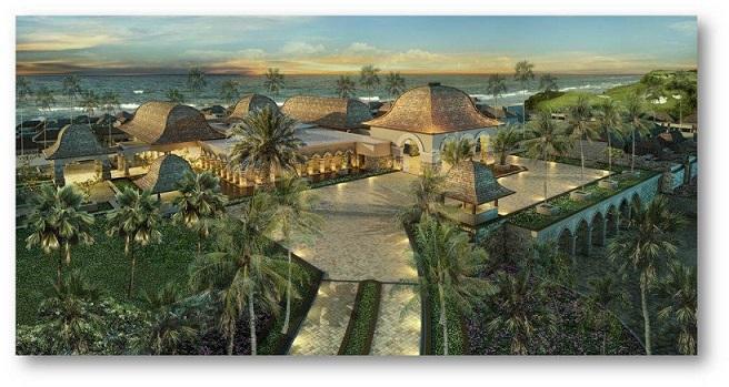 Jumeirah Bali - Main building