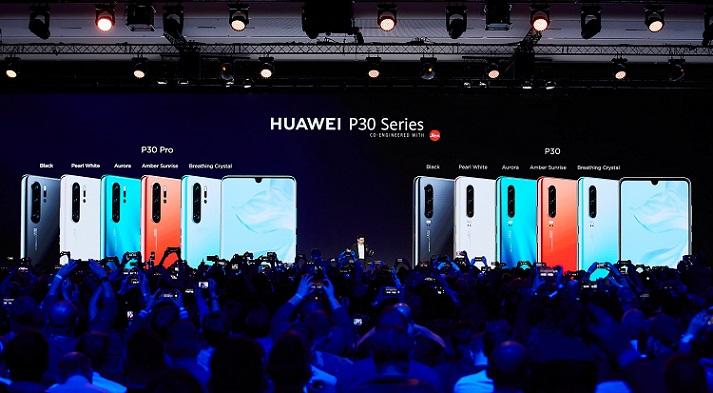HUAWEI P30 series Global Launch 2