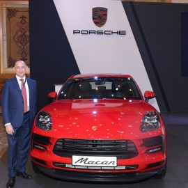 Mark Sinclair, GM of Porsche Saudi Arabia