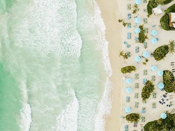 Jumeirah Al Naseem - Rockfish - Private Beach - Aerial - Drone