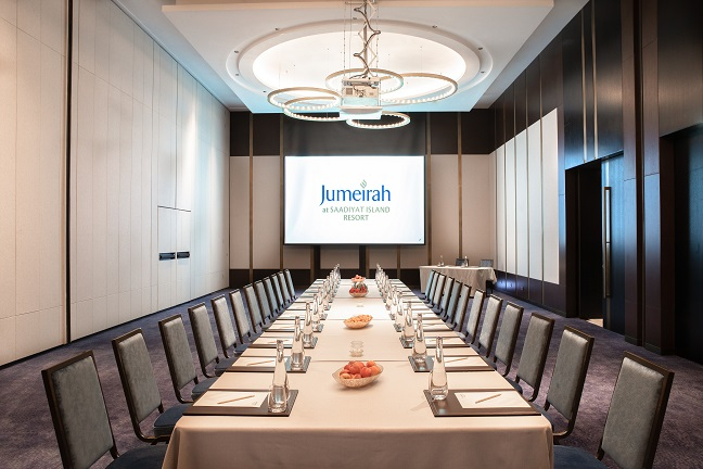 High_resolution_300dpi-Jumeirah at Saadiyat Island Resort - Conference Center - Boardroom Setup