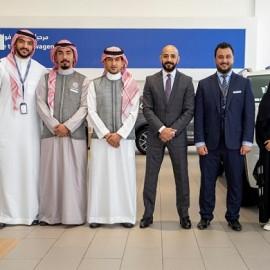 Volkswagen SAMACO sales team