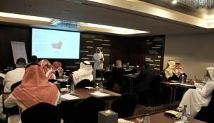 جهة من الورشة الإعلامية لدائرة الثقافة والسياحة - أبوظبي في الرياض