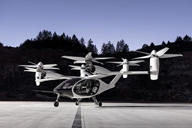 مجسم 1A التاكسي الطائر الكهربائي - المصدر جوبي للطيران