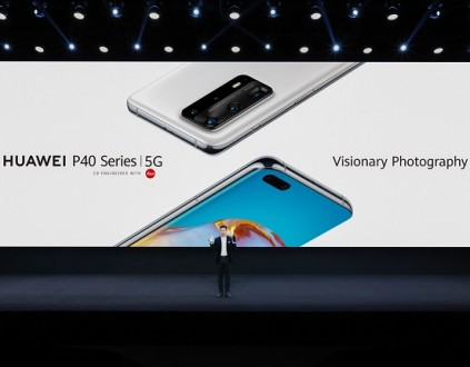 Richard Yu, the CEO of Huawei CBG P40 Series Launch
