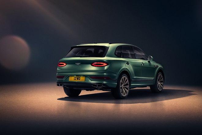 New Bentayga - Alpine Green - 8
