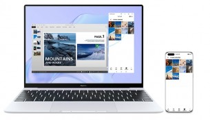HUAWEI MateBook X with the MultiScreen Collaboration Feature
