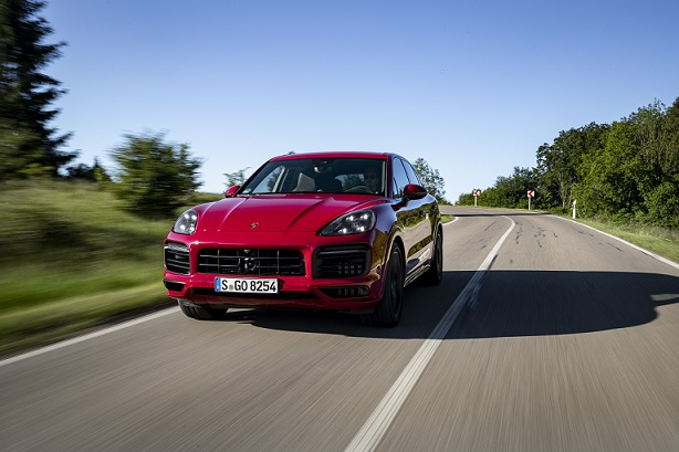 Cayenne GTS with a four-litre V8 biturbo engine